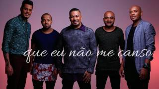 Grupo Samprazer - Ta sabendo? Part. Grupo Pixote (Lyrics video)