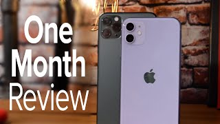 iPhone 11 & iPhone 11 Pro One Month Review!