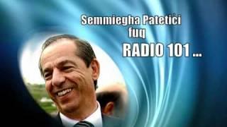 Semmiegha Patetici fuq Radio 101 [Funny]