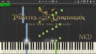 Pirates of the Caribbean: Dead Men Tell No Tales Teaser Trailer *PIANO* w/ SHEET & MIDI