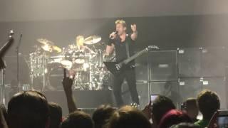 Nickelback Edge Of Revolution Manchester Arena 19/10/16