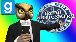 Gmod Sandbox Funny Moments - Who Wants to be a Gmod Millionaire? width=