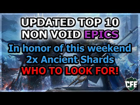 RAID Shadow Legends | UPDATED TOP 10 NON-VOID EPICS