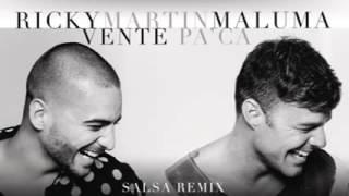 Ricky Martin   Vente Pa' Ca Versión Salsa ft Maluma
