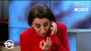 Marina Abramovic (Lucia Ocone) - Quelli che il calcio 20/09/2015