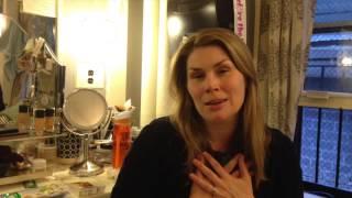 Heidi Blickenstaff in 'Something Rotten!' dressing room