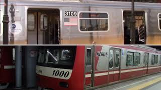 Keikyu 1000 EMU series Keikyu Line vs R179 Bombardier MTA New York City Subway