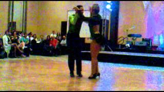 Wladimir Rodriguez concurso de salsa