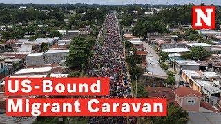 US-Bound Migrant Caravan Swells To 7,000 Despite Trump's Threat To Stop Them