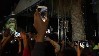 Bob Marley's son Damian Marley live performance in Addis Ababa, Ethiopia 06, 2017