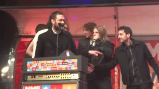 Kasabian NME Awards speech Best British Band Brixton Academy