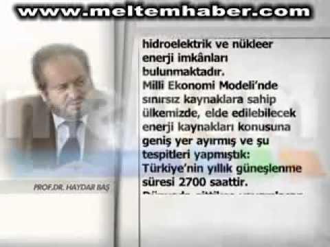 """Haydar Baş : """"Türkiye'nin kaynak problemi yoktur!"""""""
