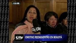 Emotivo reencuentro de un hombre con su familia en Bogotá tras 45 años | Citytv