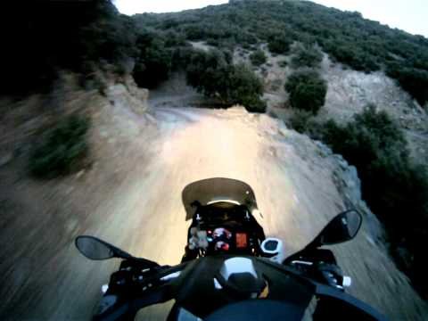 Morocco Offroad – Down the hill after sunset