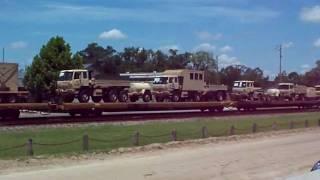 Major Army move through Folkston Georgia