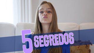 Meus 5 Segredos || Valentina Schulz