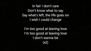 Walk Away - By: LANY (Lyrics)