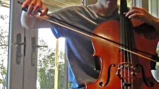 """Game of Thrones S2 soundtrack """"Winterfell"""" for two cellos"""