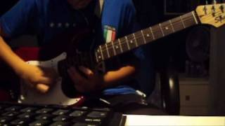 Muse - Knights of Cydonia INTRO (guitar cover with tremolo)