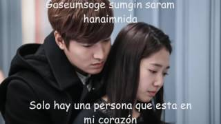 Park Jang Hyun  Park Hyun Kyu   Love Is Lyrics The Heirs OST Sub espaol romanizacin youtube com