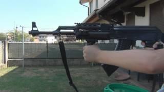 Prova di tiro AK-47 Tactical Slow-Motion 3D (OFFICIAL Full HD 1080p3D 50i FX)