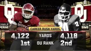Samaje Perine becomes OU's All-Time Leading Rusher