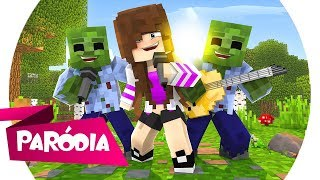 Minecraft: PARÓDIA ''IS THAT FOR ME'' (ALESSO & ANITTA) - EU VI UM ZUMBI!!! - (Minecraft Música)