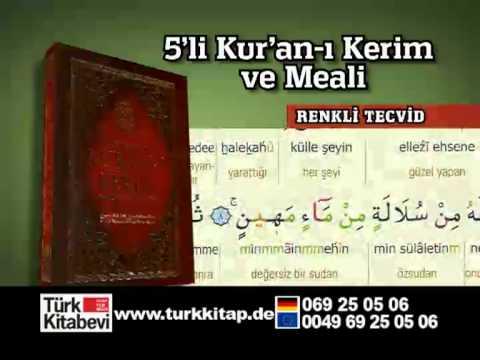 5'li Kuran-ı Kerim Meali Seti