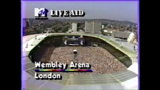 Wembley Stadium Royal Salute (MTV - Live Aid 7/13/1985)