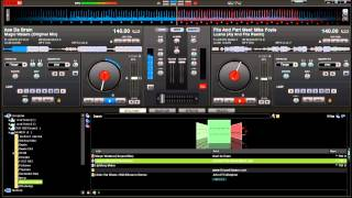 How to mix Trance music using Virtual DJ 7 Pro