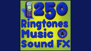 News Flash Synth Arp SFX Soundscape, ringtone, alarm, alert
