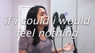 if i could i would feel nothing by blackbear | cover