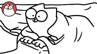 Bed Sheets - Simon's Cat