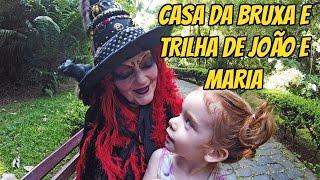 BOSQUE DO ALEMÃO: TRILHA JOÃO E MARIA/CASA DA BRUXA (Curitiba/PR)