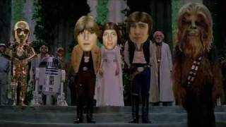 "Marianas Trench starring in ""Star Wars Episode IV: A New Hope"""