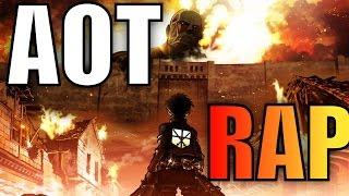 OFFICIAL ATTACK ON TITAN RAP /CAPTAINKOMURO ft. PRILECTO ft. WU-TANG CJ