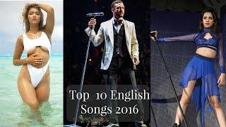 Top 10 English Songs 2016