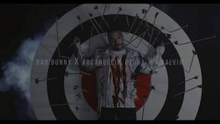 BAD BUNNY FT J BALVIN-- OZUNA  -ARCANGEL Video soy peor remix