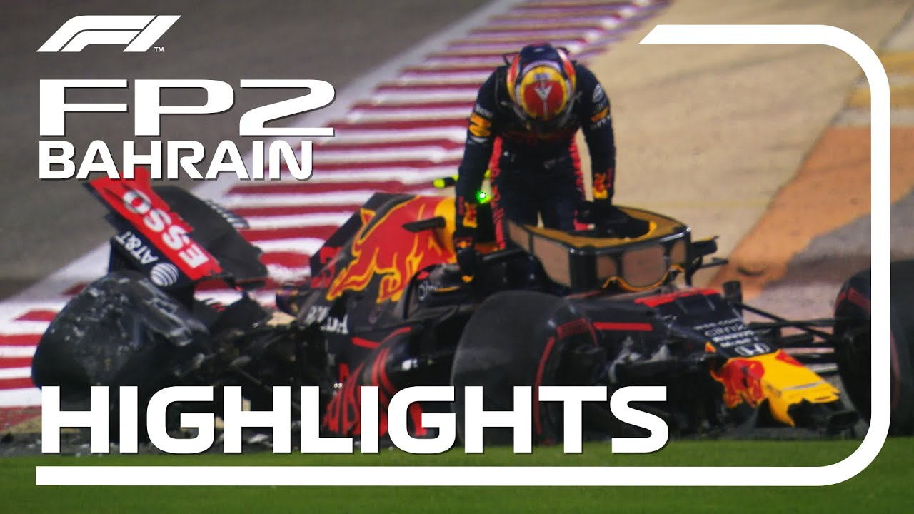 Formula1 - 2020 Bahrain Grand Prix | FP2 Highlights