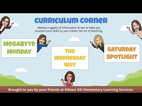 Curriculum Corner img