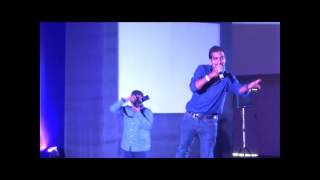 Jadoo Teri Nazar Live performance Golden Palms by Dilip K P
