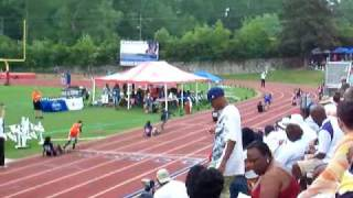 2009 State 4X100 relay Finals