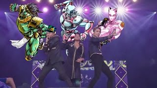 JoJo's Bizarre Adventure: Diamond Is Unbreakable [ALL OPENINGS LATINO LIVE]