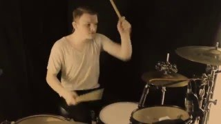 Underoath - Writing on the walls ( Forrest Beers - drum cover )