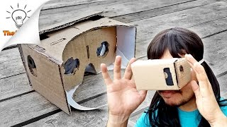 [DIY] How to make VR Headset Google Cardboard | Thaitrick