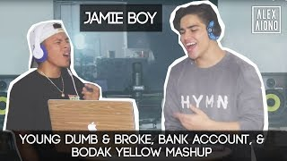 Young Dumb & Broke, Bank Account, & Bodak Yellow Mashup | Alex Aiono MASHUP FT JamieBoy