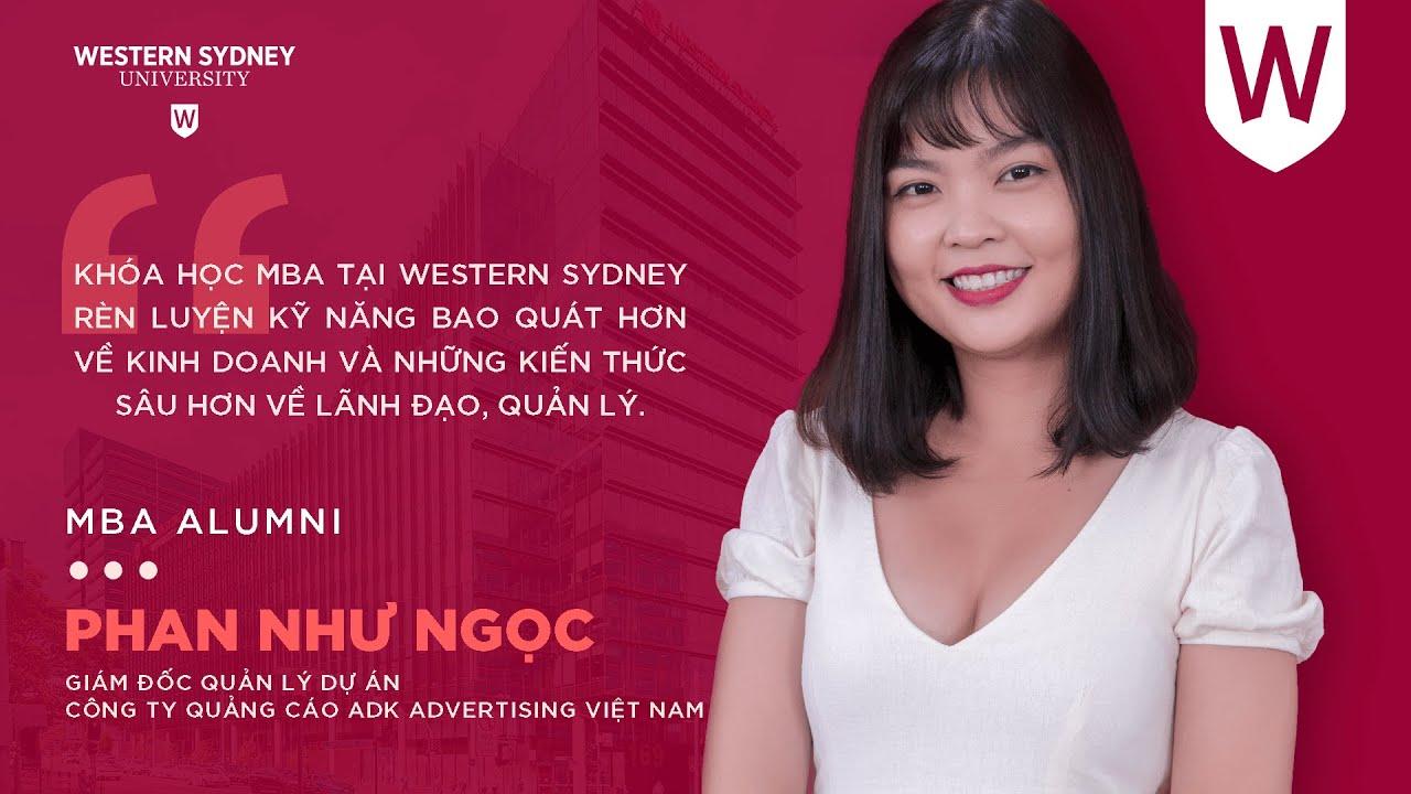 Phan Như Ngọc – Giám đốc quản lý dự án tại ADK Advertising Việt Nam | MBA Alumni