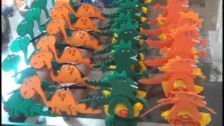 Lembrancinha: Tema Dinossauro.