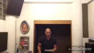 Mi Corazon Encantado - Aaron Montalvo HD (COMPARATIVO DE VOZ ACAPELLA VS VOZ ESTUDIO) Ver completo!!