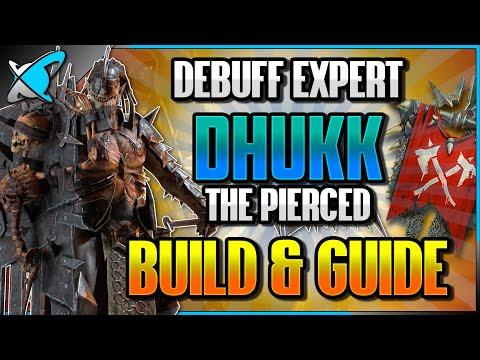 """DEBUFF  EXPERT"" Dhukk The Pierced Build, Guide & Masteries | Use Everywhere! | RAID: Shadow Legends"